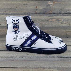 Polo Ralph Lauren Solomon II Men's High Top Shoes